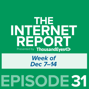 Blog Thumbnail Ep. 31: About Monday's Google Outage; Plus, Talking Holiday Internet Traffic Trends with Fastly